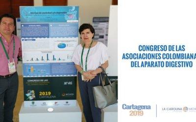 Póster ganador de La Carolina Medical IPS, dentro del marco del congreso ACADI 2019.